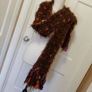 Chunky colorful Scarf